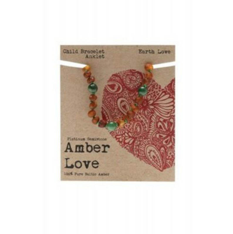 Amber Love Child Bracelet Earth Love
