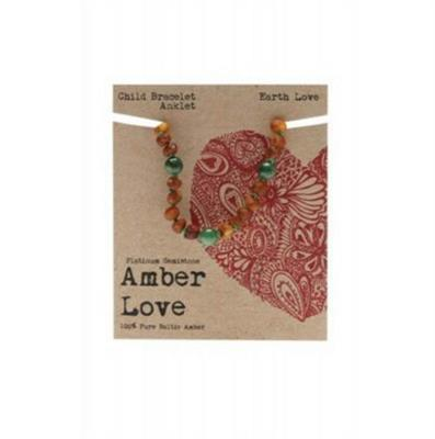 Amber Love - Child Bracelet/Anklet - Earth  Love