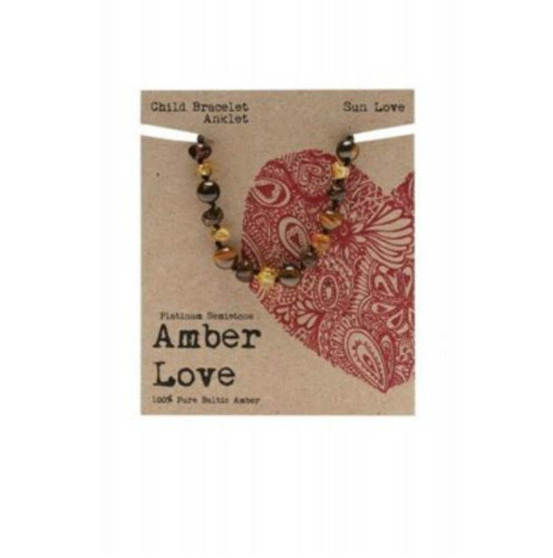 Amber Love - Child Bracelet/Anklet - Sun  Love