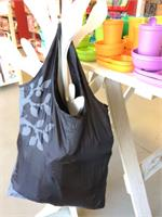 Apple Green Duck Yetty Reusable Tote Bag Black Tree