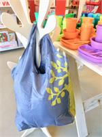 Apple Green Duck Yetty Reusable Tote Bag Grey Tree