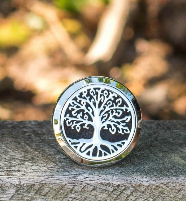 Aroma Jewels - Essential Oil Car Diffuser - Tree Of Life
