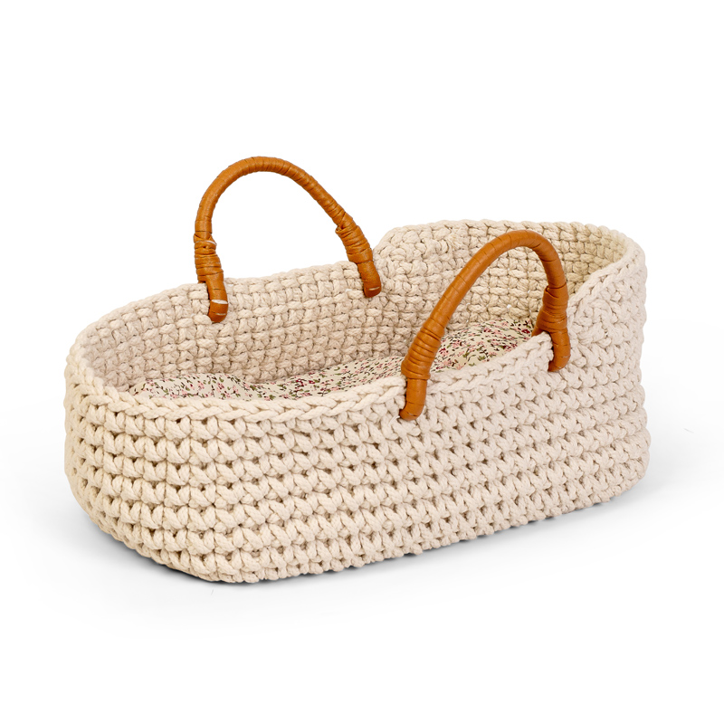 Astrup Knitted Doll Basket 35cm