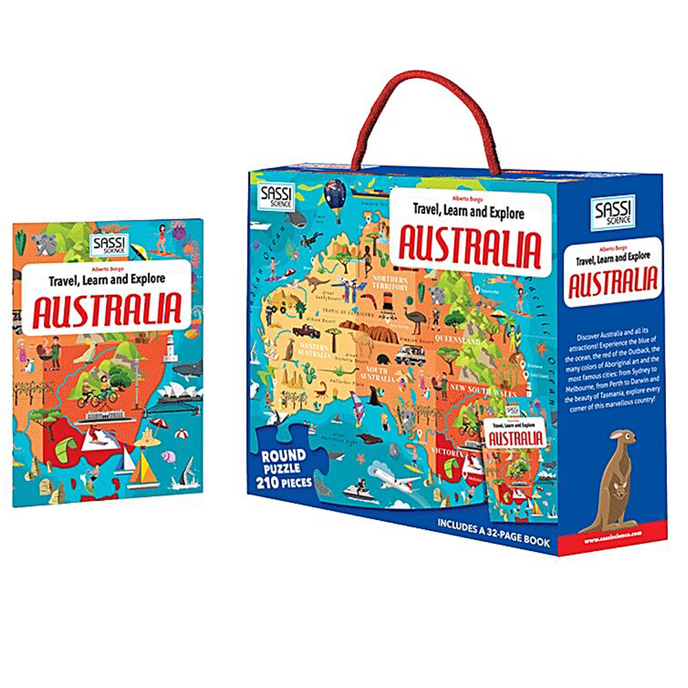 Australia Puzzle 210pc and Book