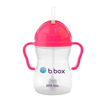 b.box-Baby Drinking Cups-Sippy Cup {Pink Pom}