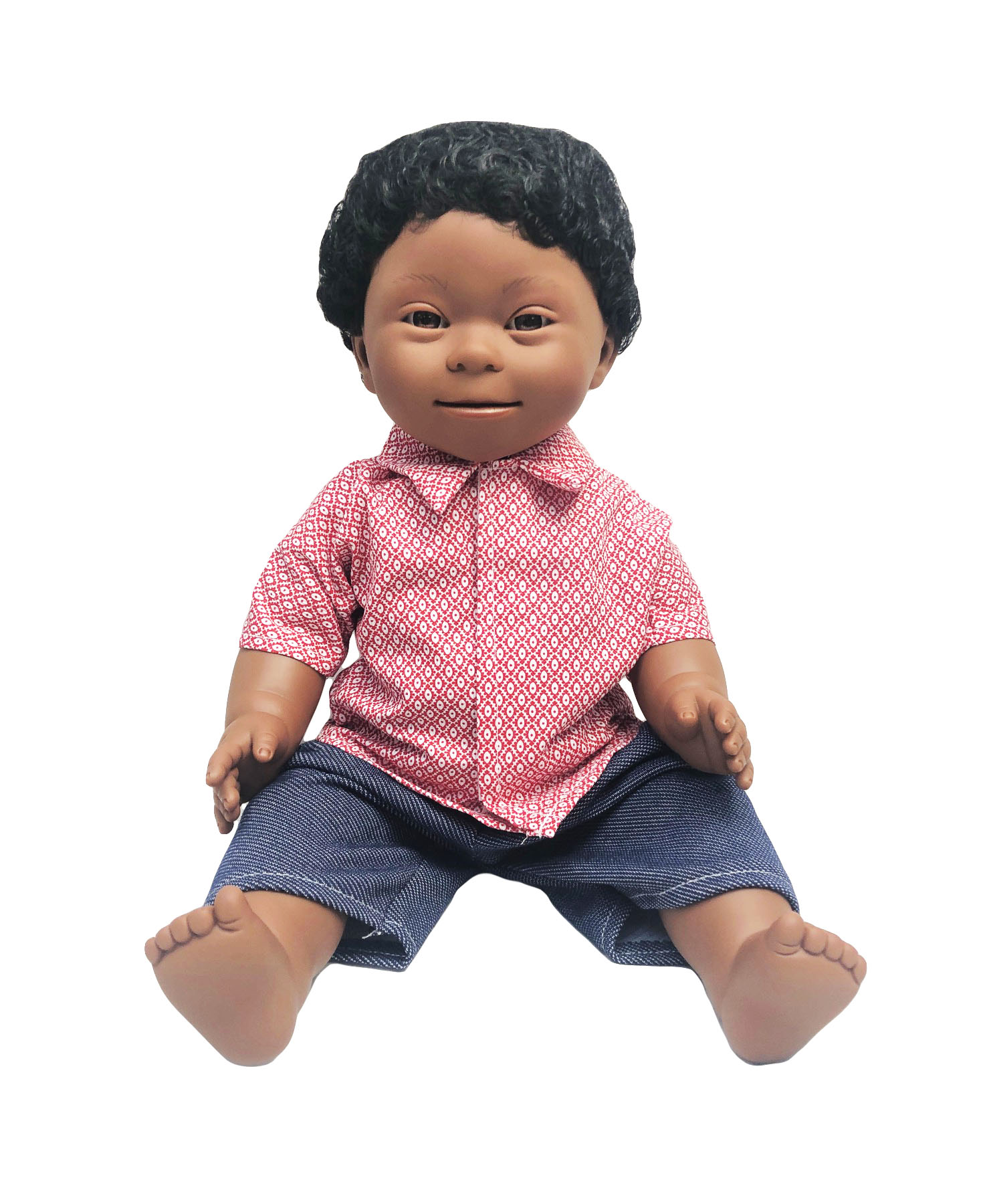 African Boy - Down Syndrome Doll