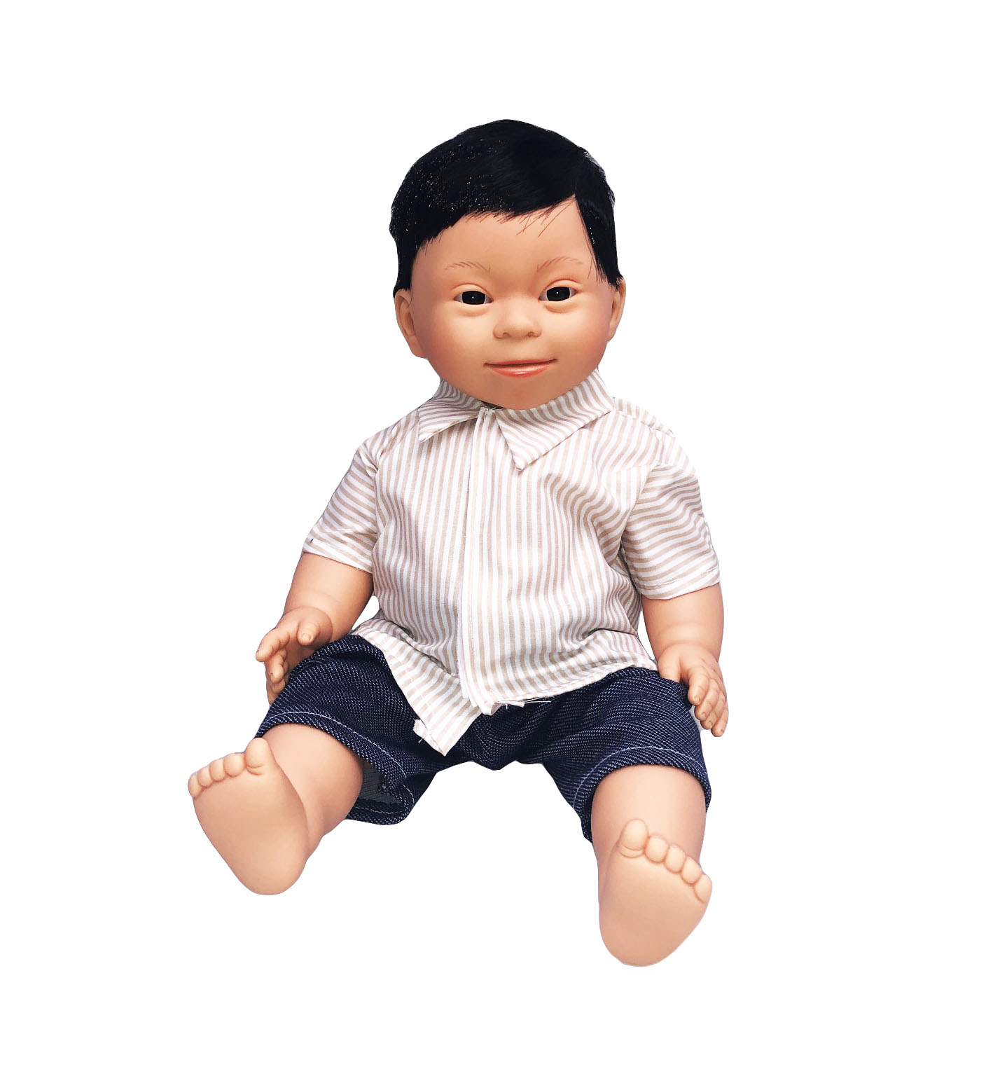 Asian Boy Down Syndrome Doll