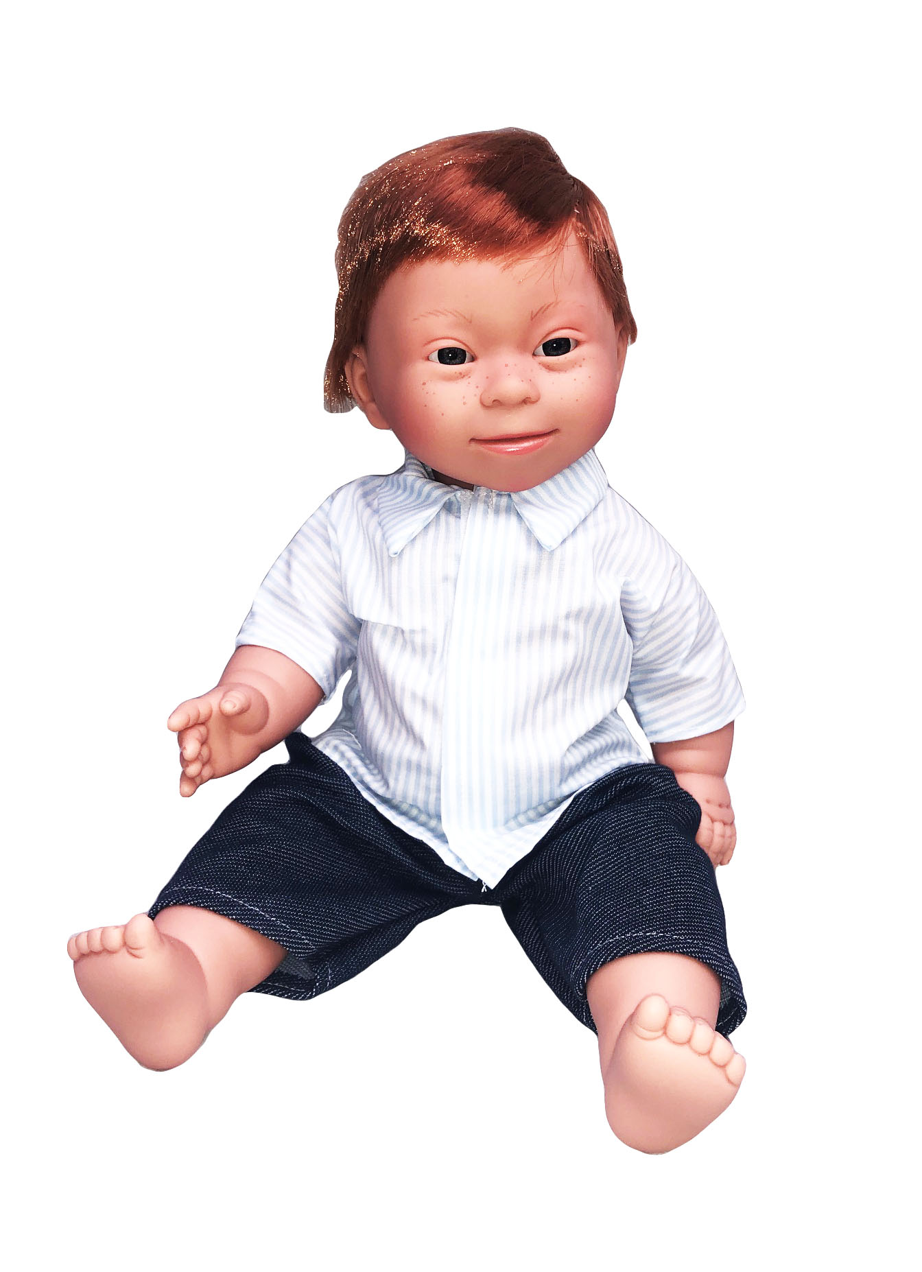 Red Haired Boy - Down Syndrome Doll