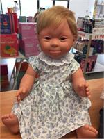 Blonde Girl (short hair) - Down Syndrome Doll