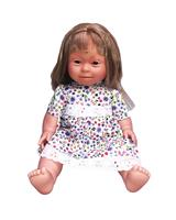 Blonde Girl (long hair) - Down Syndrome Doll