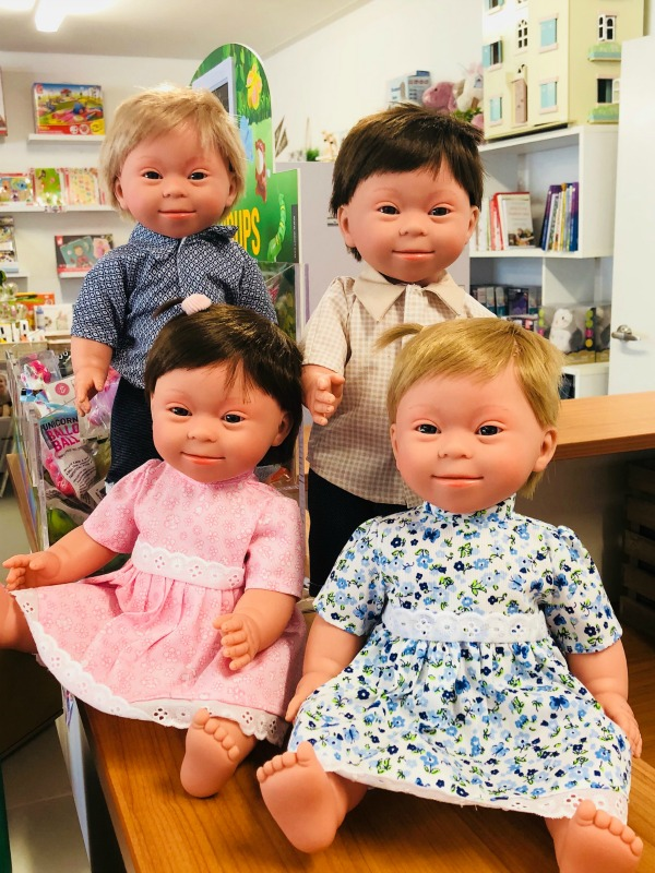 Baby Doll with Down Syndrome