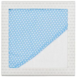 Baby Hooded Towel Blue Dot