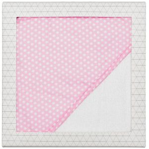 Baby Hooded Towel Pink Dot