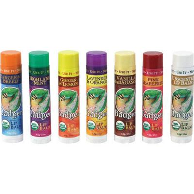 Badger Organic Lip Balms