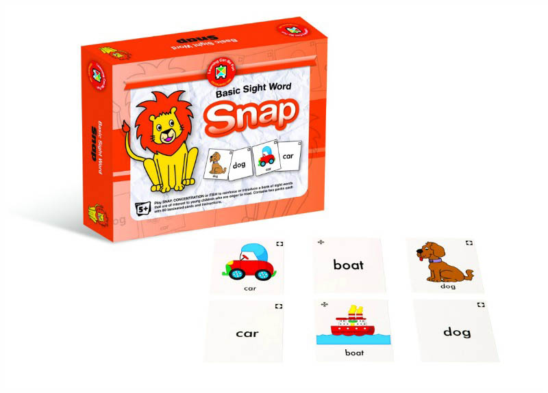 Basic Sight Words Snap