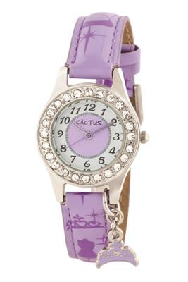 Cactus Bedazzled Sparking Girls Kids Watch