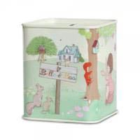 Tin Money Box Gift for Kids