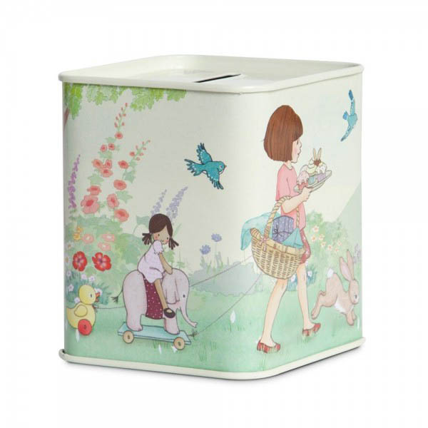 Belle and Boo- Gifts for Kids-Tin Money Box {Belle}