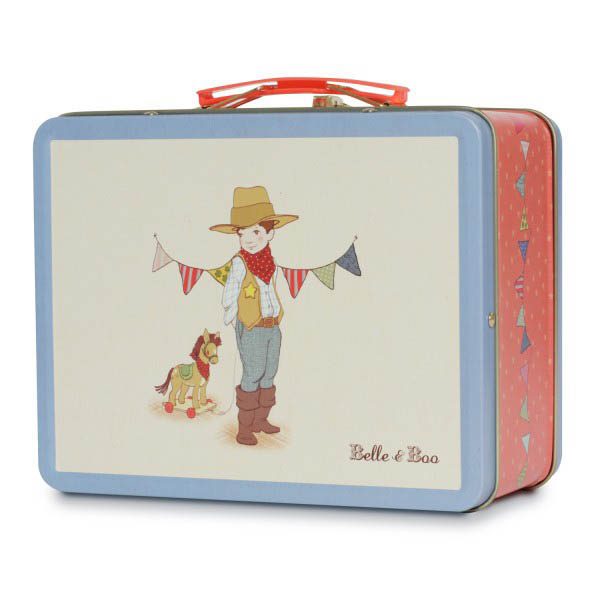 Tin Lunch Boxes for Kids- Ellis from Belle and Boo
