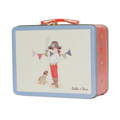 Belle and Boo- Kids Lunchboxes- Tin Lunchbox {Ellis}