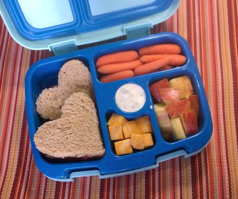 Plastic Free Kids Lunch