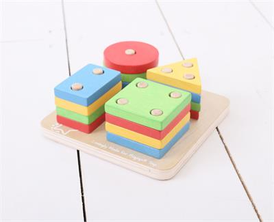 Bigjigs First Four Shape Sorter Toy