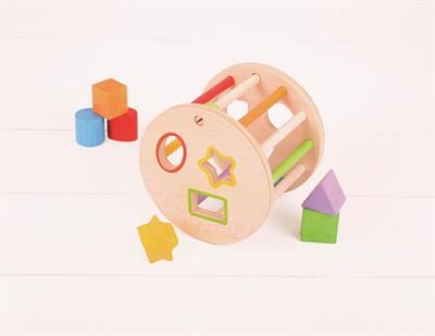 Bigjigs Rolling Shape Sorter Toy