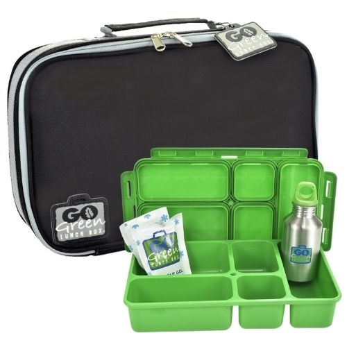 Black Stallion Go Green Lunch Box Set