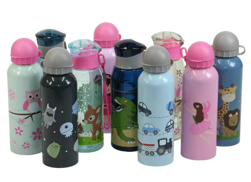 Bobble Art 500ml Stainless Steel and BPA Free Tritan Drink Bottle