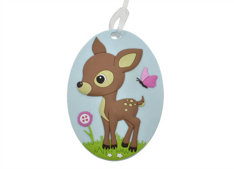 Bobble Art - Baggage Tags WOODLAND ANIMALS