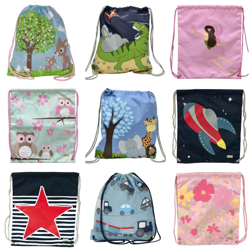 Bobble Art Drawstring Bag