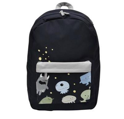 Bobble Art Large Coated Monsters Backpack