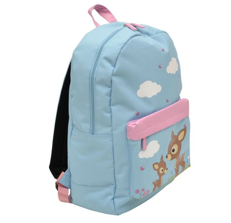 Bobble Art Large Coated Woodland Animals Backpack