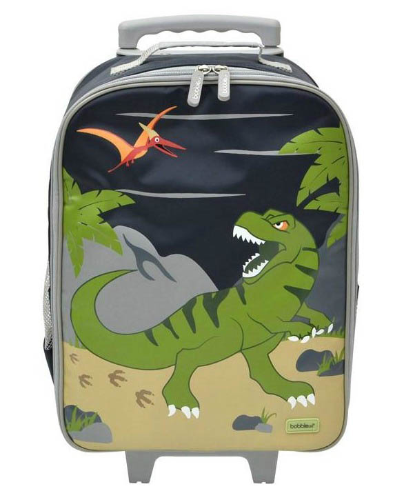 Bobble Art - Wheely Travel Bag - Dinosaur