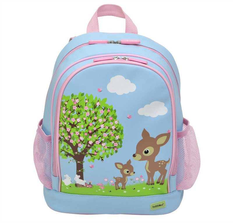 Bobble Art Woodland Animals Large Backpack