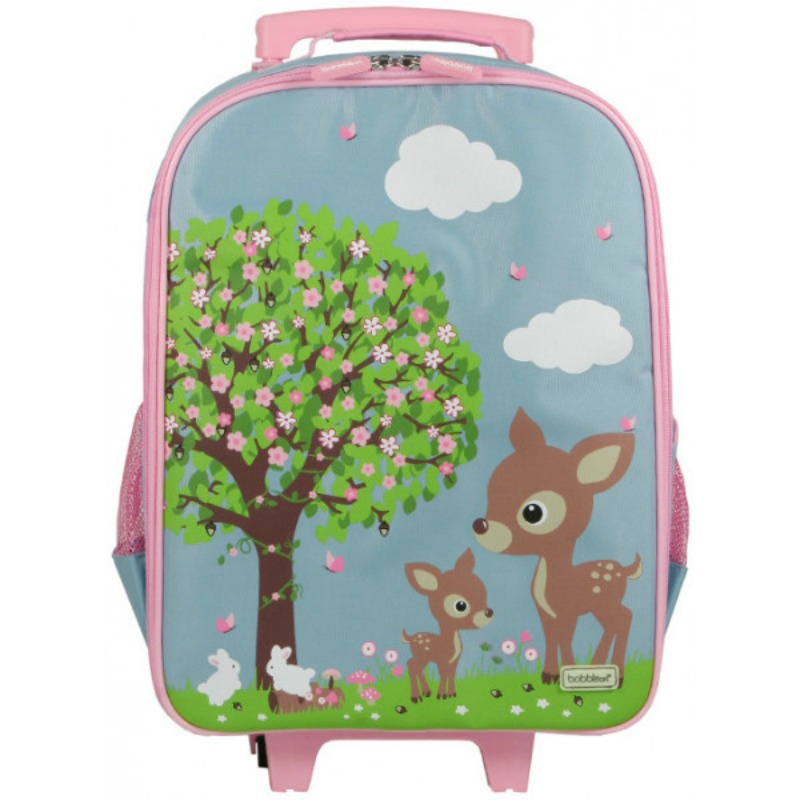 Bobble Art Woodland Animals Wheelie Travel Bag