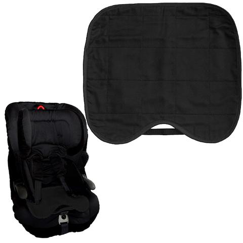 Brolly Sheets Kids Waterproof Car Seat Protector Black