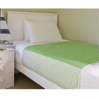 Brolly Sheets Waterproof King Single Sheet Protector Lime