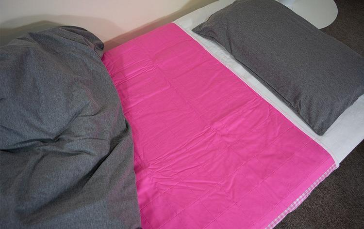 Brolly Sheets Waterproof King Single Sheet Protector Pink