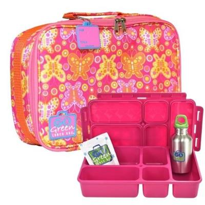 Butterfly Go Green Lunch Box Set