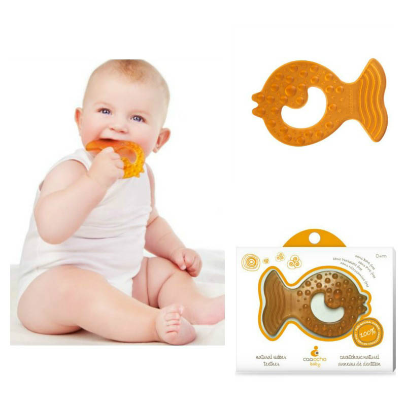 CaaOcho All Stage Fish Teether