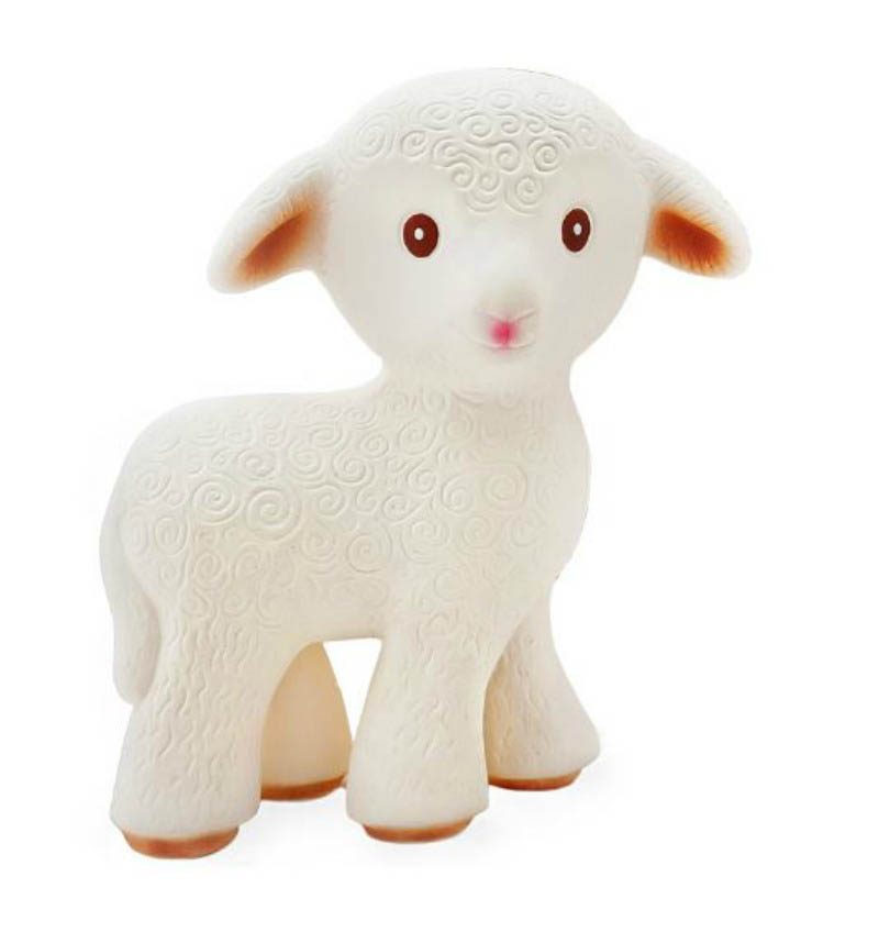 CaaOcho-Teething Toys-Mia the Lamb