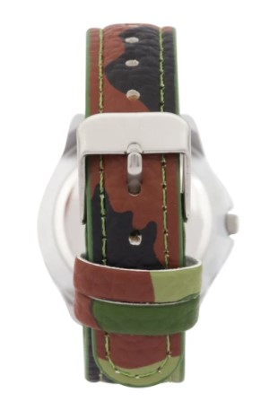Cactus Master Kids Time Teacher Camouflage Watch