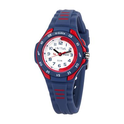 Cactus Mentor Time Teacher Watch Blue