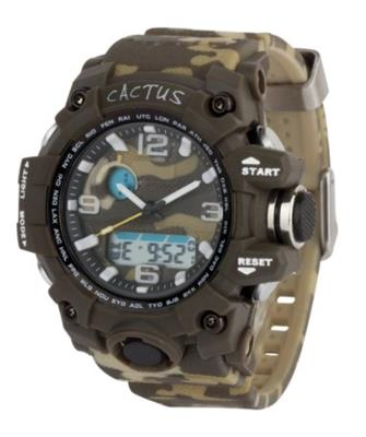Cactus Mighty AnaDigi Kids Watch - Camouflage