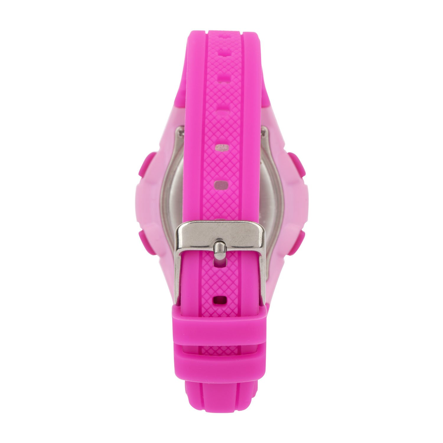 Cactus Rambler Digital LCD Watch Hot Pink back