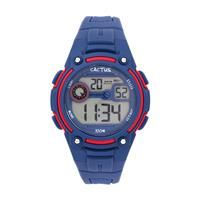 Cactus Rambler Digital LCD Watch Navy Blue