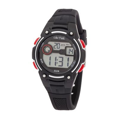 Cactus Rambler Digital LCD Watch Black