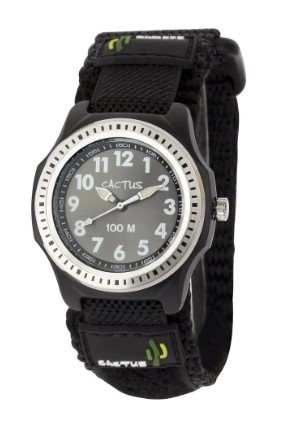 Cactus Rugged Ranger Touch Boys Kids Watch Black