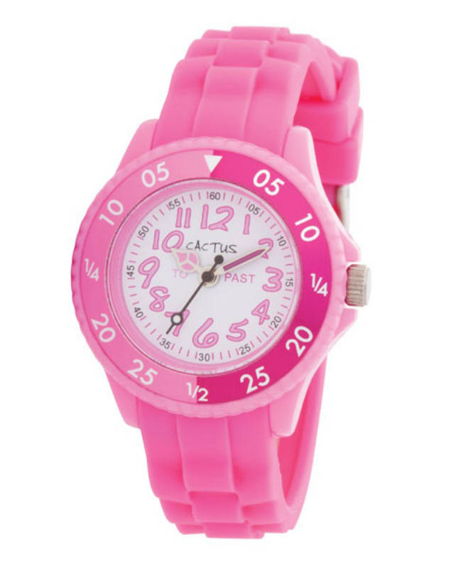 Cactus Time Tutor Kids Watch